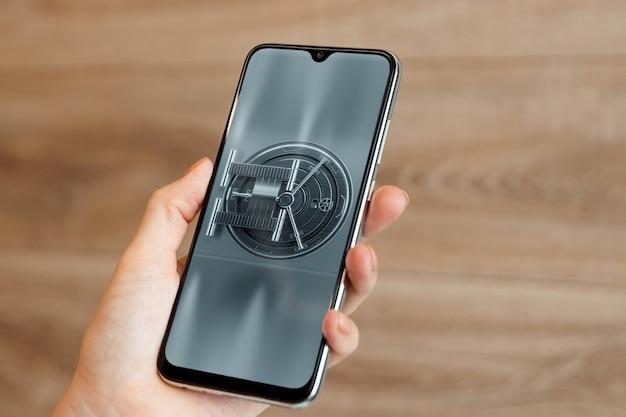 Концепция защиты смартфона, мобильная безопасность