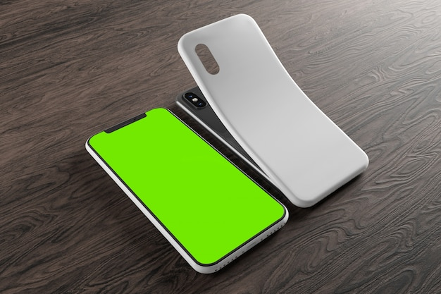 Smartphone screen and case