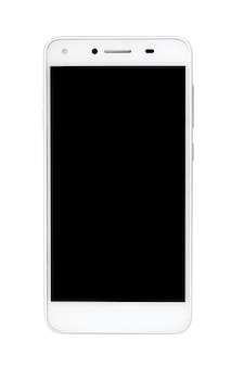 Smartphone, white background
