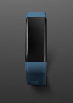 スマートウォッチ画面のデジタル デバイス