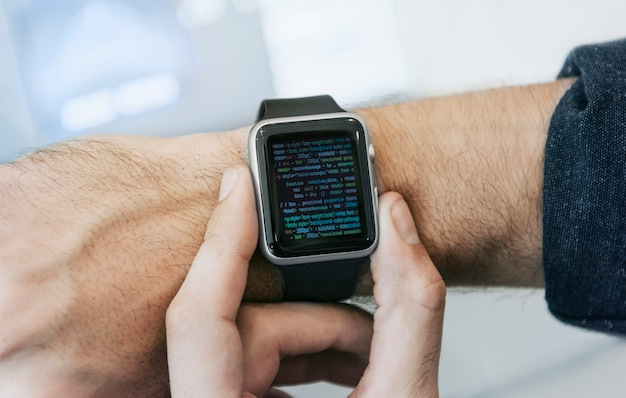 Smartwatch screen