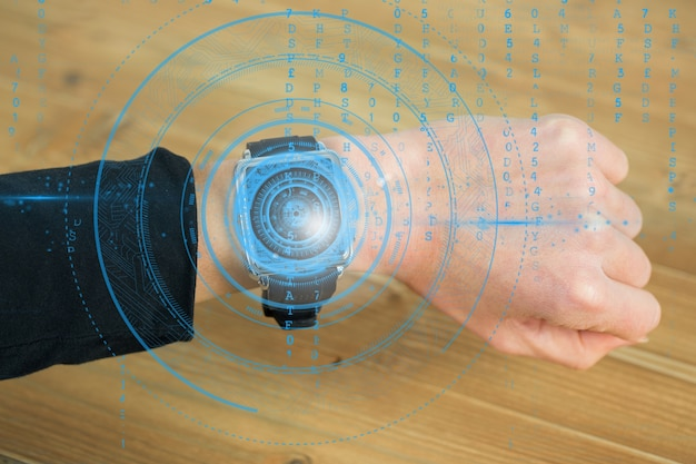 Smartwatch with code