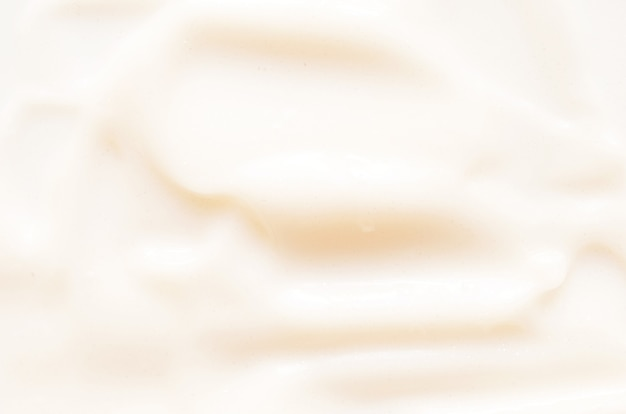 Smears and texture of face cream skin care concept  image