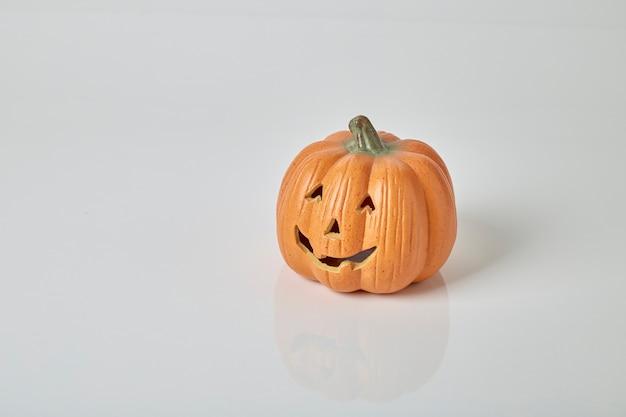 Smiling pumpkin jack-o'-lantern