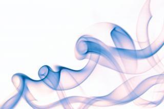 Smoke  background  aroma  flow  smooth