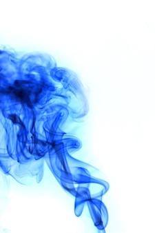 Smoke of blue