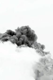 연기 구름 폭발