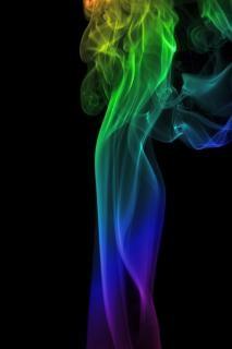 Smoke   design  backdrop