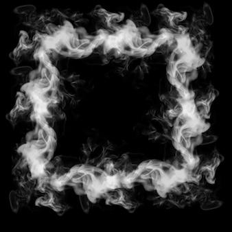 Smoke frame 3d illustration