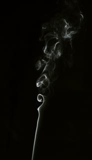 Smoke  smell  flow  abstract