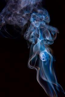 Smoke  steam  smell