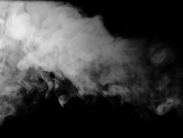 黒の煙のテクスチャ