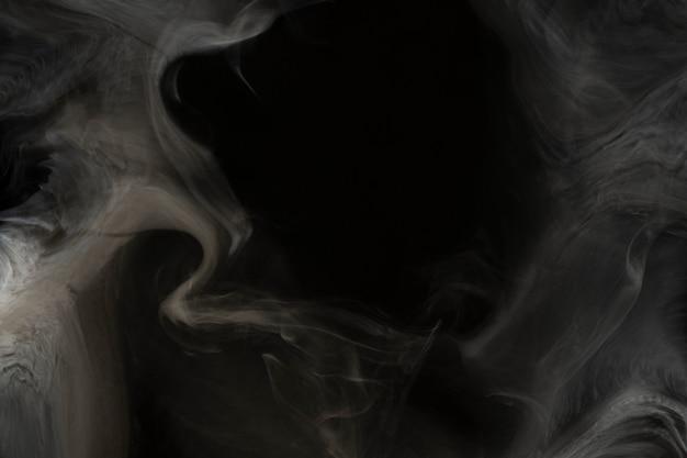 Smoke texture wallpaper, dark background