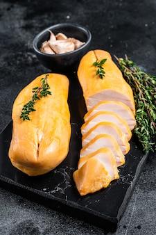 훈제 컷 닭 가슴살 등심 고기 진미