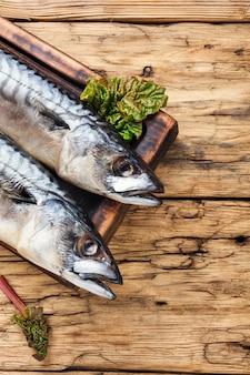 魚のher製とハーブ