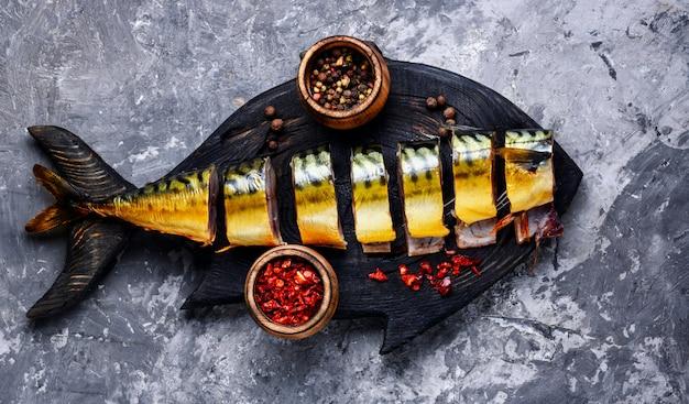 Копченая рыба со специями