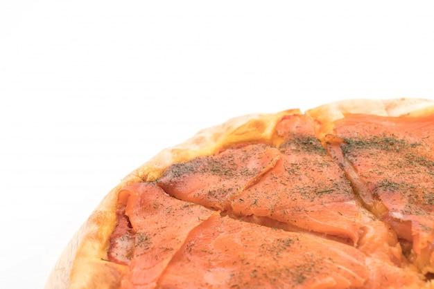 スモークサーモンピザ