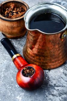 Smoker tobacco pipe