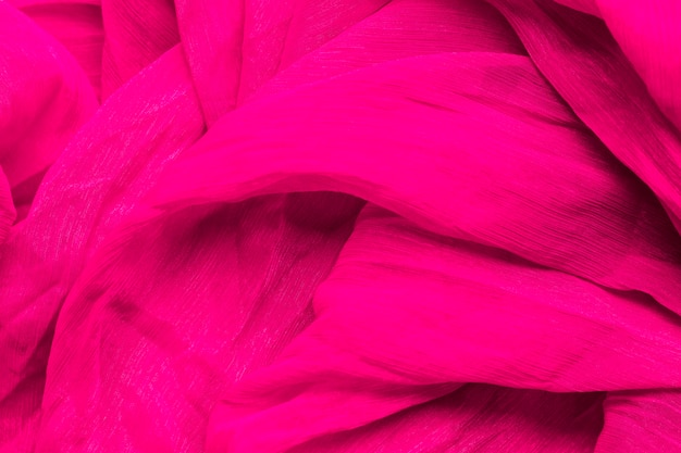 Smooth elegant pink fabric material texture