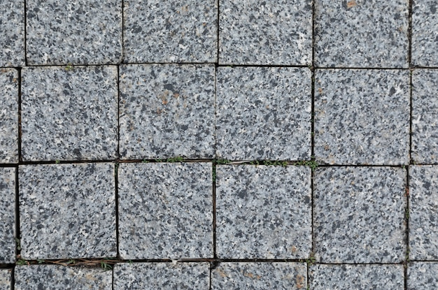 Smooth grey granite tile,  with grunge texture