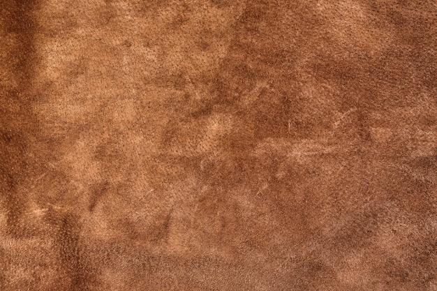 Гладкая бесшовная текстура замши. коричневый цвет.