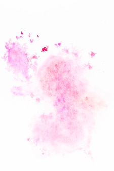 Smooth stain of pink paint