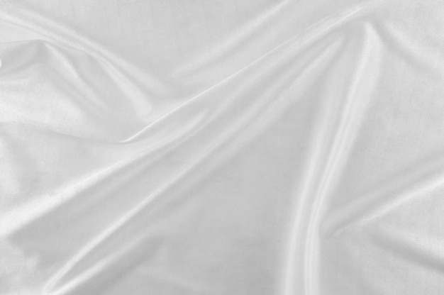 Smooth white silk or satin texture.