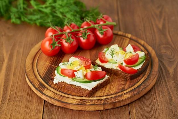 Smorrebrod - traditional danish sandwiches
