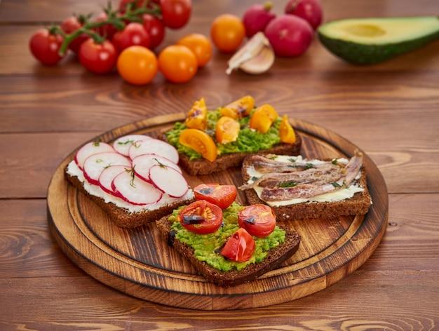 Smorrebrod  - 伝統的なデンマークサンドイッチ