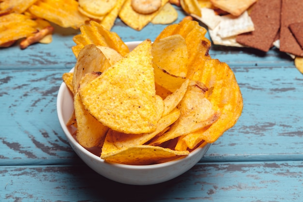 Snacks in a bowl