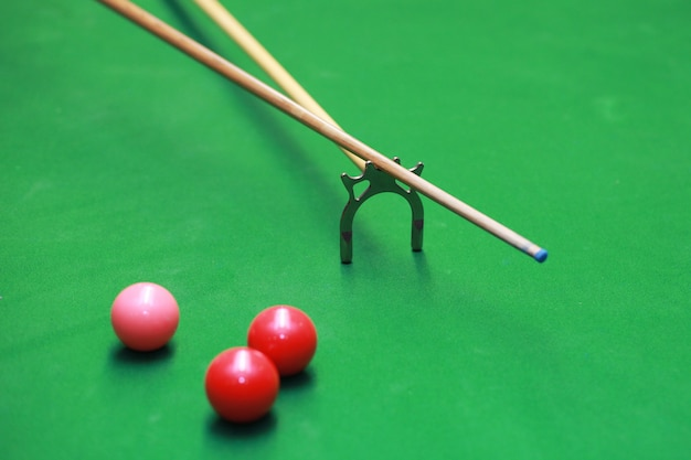 Snooker table player play indoor club pool table