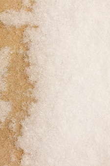 Snow on concrete texture