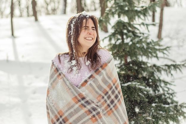 소녀에게 눈이 내린다