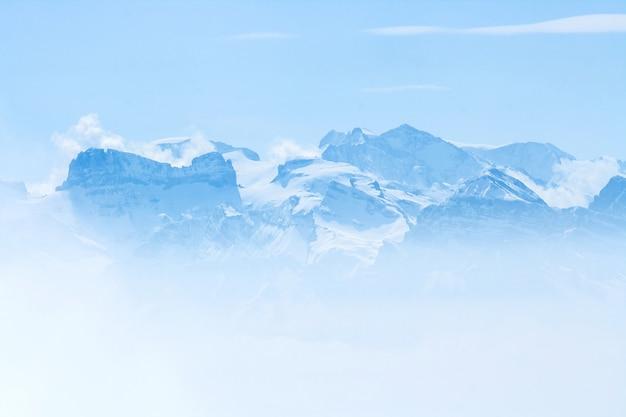 Snow mountai