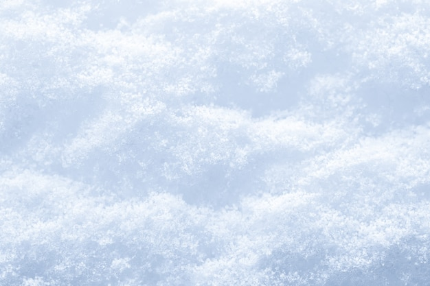 Snow surface texture background.