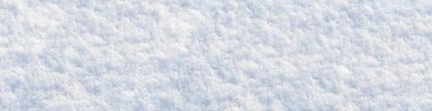 晴れた日の雪のテクスチャ、冬の背景