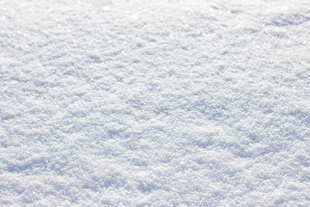 Snow texture in a sunny day, winter sunny day, snow cover