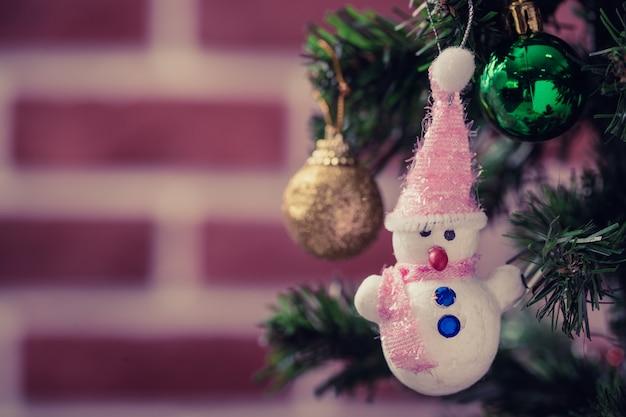 Snowman doll christmas ornaments.