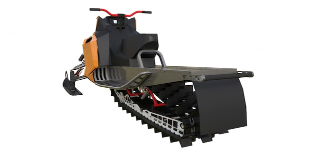 Snowmobile for snowy terrains