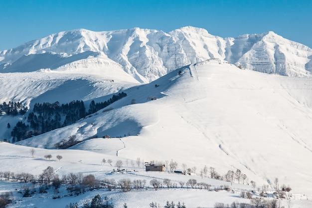 スペインの雪山