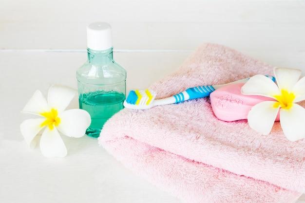 石鹸、ヘルスケアボディスキン用テリークロス