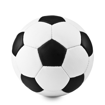 Футбольный мяч, изолированные на белом фоне