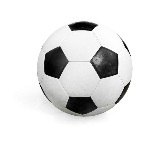 Футбольный мяч, изолированные на белом.