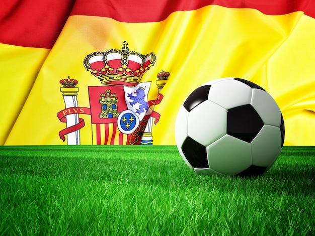 Soccer ball spain