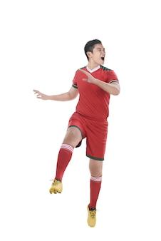 Soccer player header