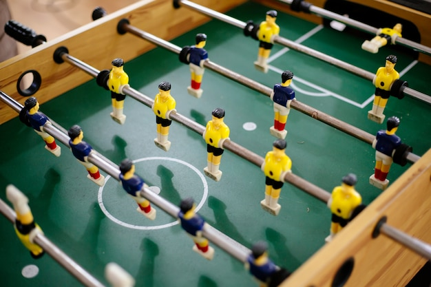 Soccer table toy