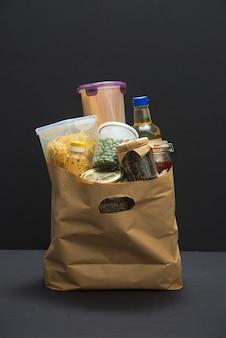 Пакет продуктов социальной помощи для людей с финансовыми проблемами