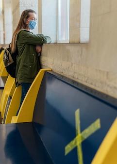 Концепция социального дистанцирования в общественных местах