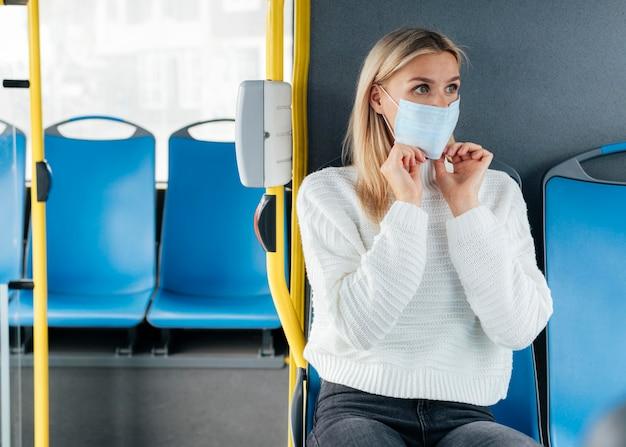대중 교통에서의 사회적 거리감