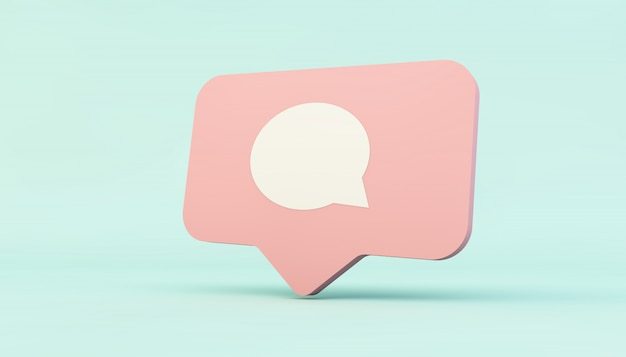 Social media comment icon